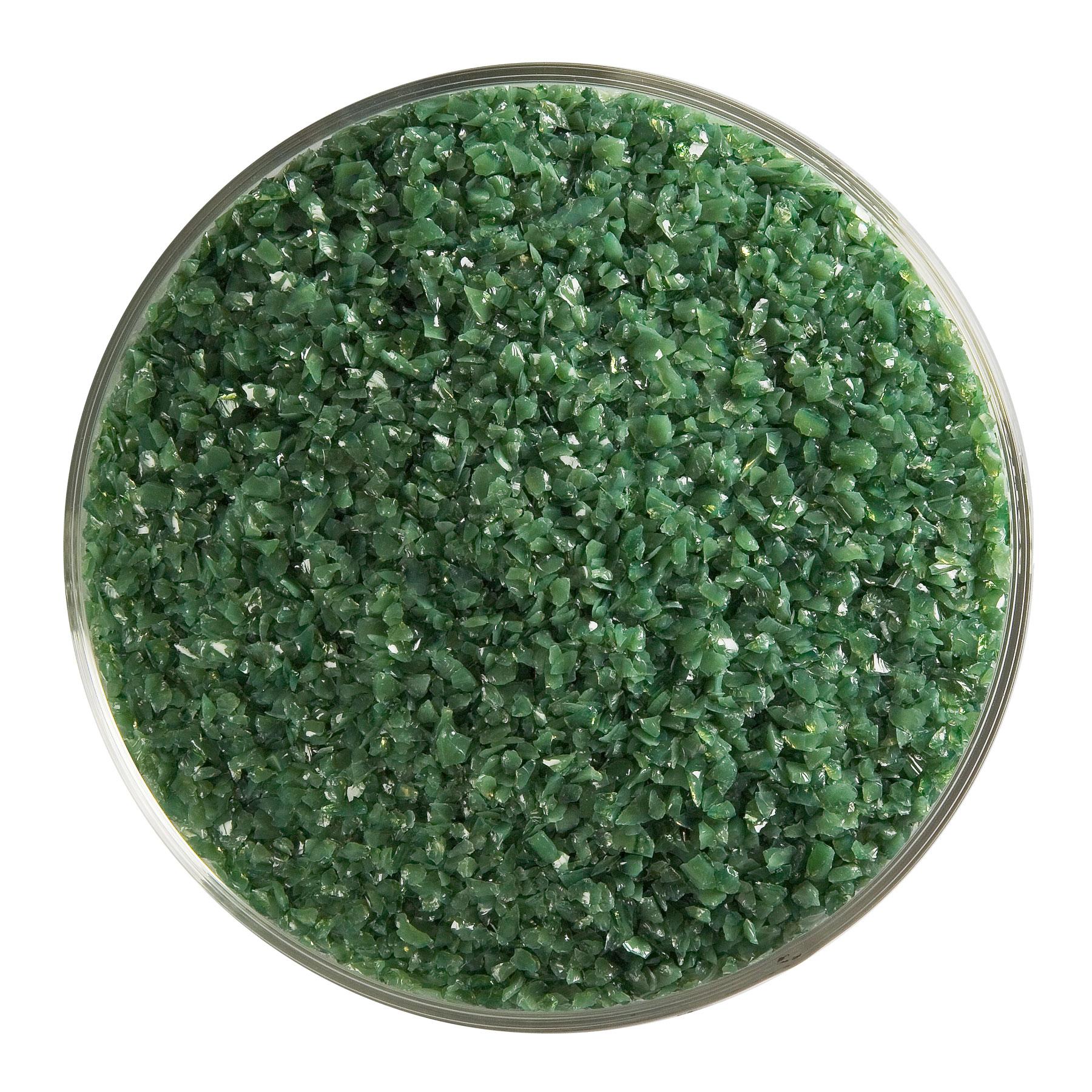 90 Coe Dark Forest Green Opal Medium Frit