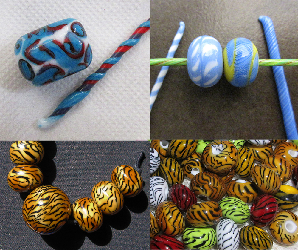Making Glass Beads with Twisties<br>Beginner