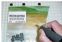 Friction Buttons  set of 8