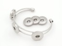 Bracelet-w/ Three Flat Disc