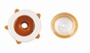 96 COE-RT-1108-96<br>Transparent Medium Amber<br>3mm Rod<br>Single Piece