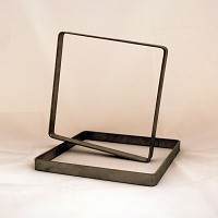 Square Dam, Stainless Steel, 8.5 in. x 8.5 in. x 0.75 in. deep