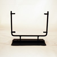 Square Display Stand, Black, 10 in. wide